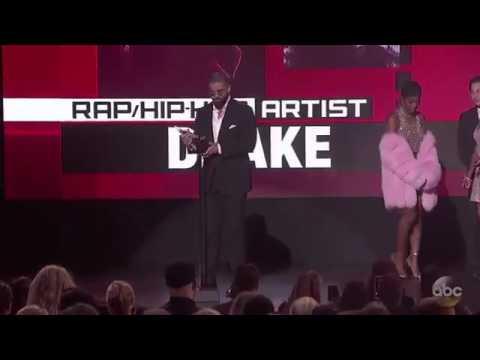 Drake Wins Best Rap/Hip Hop Artist - AMA's 2016 Award