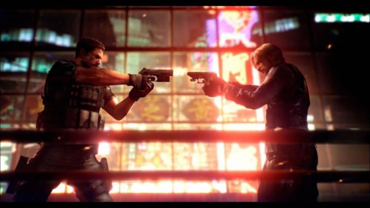 Resident Evil 6 Ost Leon Vs Chris Youtube