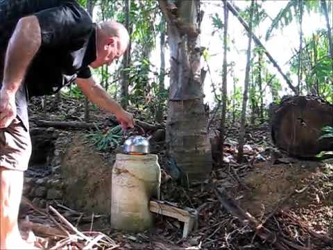 Amazing Rocket Stove Cement DIY Cooking Resource Works Great