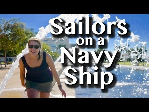 SAILORS ON A NAVY SHIP -[36]- Sailing With A Purpose