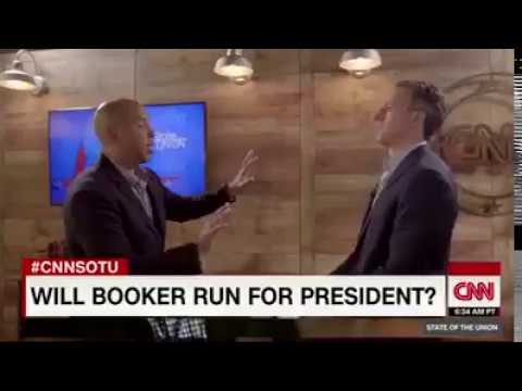 Cory Booker Plans For President Election 2020