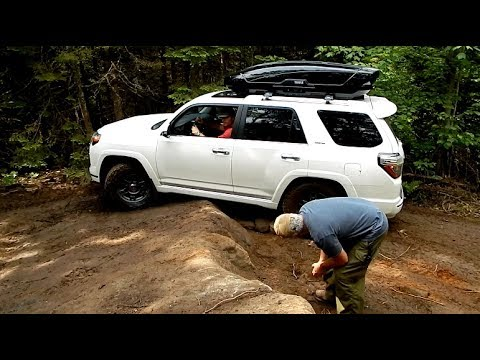 Brand NEW Toyota 4Runner Limited First OFF-ROADING