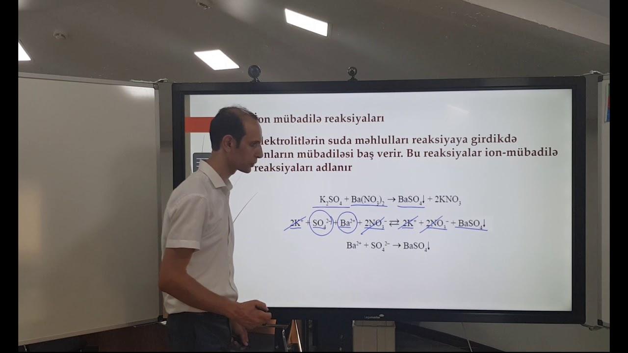 Kimya. Abdullayev Elşad