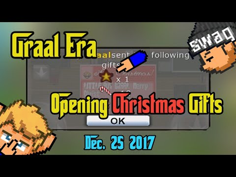 Graal Era: Opening Gifts 2017 | What did i got❓