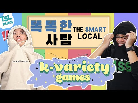 TSL Plays: Korean Variety Games