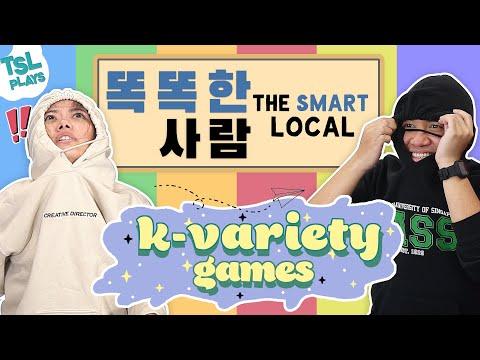 TSL Plays: Korean Variety Games