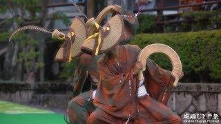 4k こきりこ節 城端むぎや祭2019四葉会・浄念寺会場 Johana Mugiya Festival