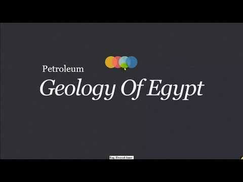 3- petroleum geology of Egypt