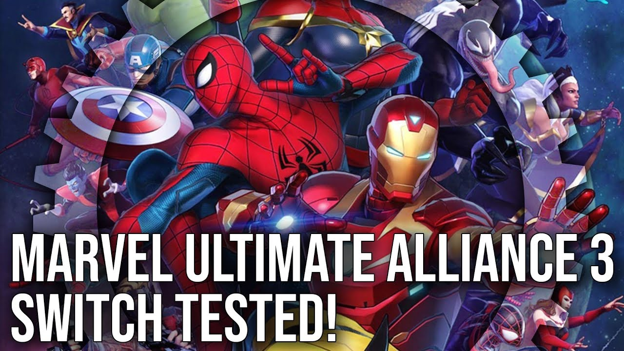 b73abf78e Marvel Ultimate Alliance 3 on Switch Tested! Complete Tech Breakdown