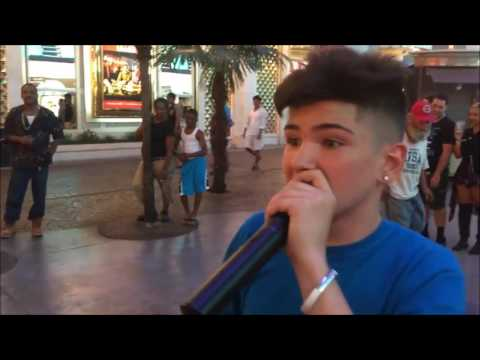 14 year old kid shows he got bars in this rap game.  Real underground music.  #StreetRap