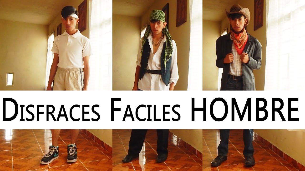 Disfraces f ciles para hombre f ciles y rapidos daluxs - Platos originales y faciles de hacer ...
