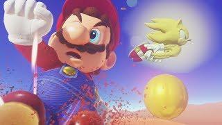 Super Sonic in Super Mario Odyssey