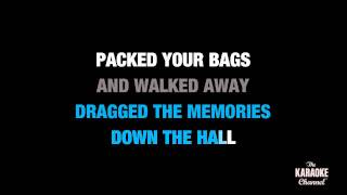 "Over You in the Style of ""Daughtry"" karaoke video with lyrics (no lead vocal)"