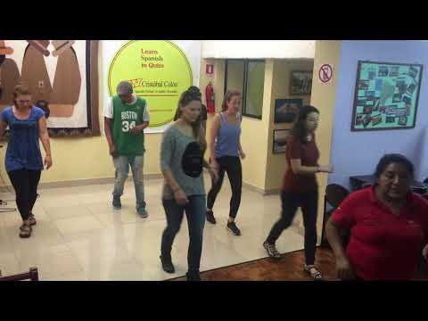 Cristobal Colon Spanish School in Quito - Free Salsa lessons