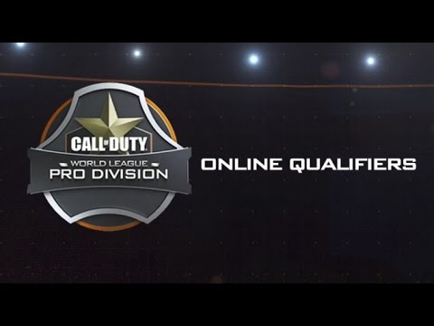 Call of Duty Onliine Qualifiers for World League Registratio