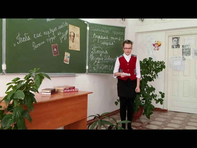 Изображение предпросмотра прочтения – ЕкатеринаМальцева читает произведение «Чародейкою Зимою…» Ф.И.Тютчева