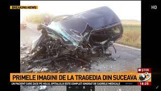 Imagini de la tragedia din Suceava