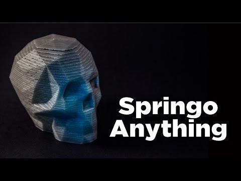 Springo Anything! // A Skull, A Giant, & A Fusion 360 Tutorial