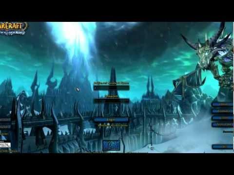 WotLK - Login Screen - Music Theme