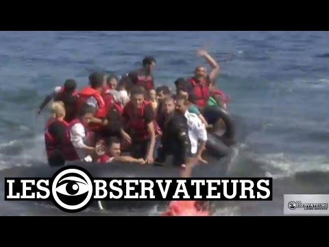 Migrants à Lesbos : les bénévoles seuls face à la crise humanitaire - Grèce #LigneDirecte
