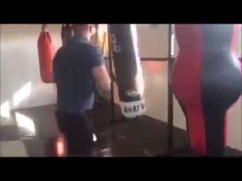 Michael ward training hard Irish traveller