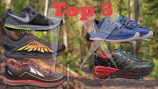 Top 5 Trail Running Shoes 2017 || Spring/Summer