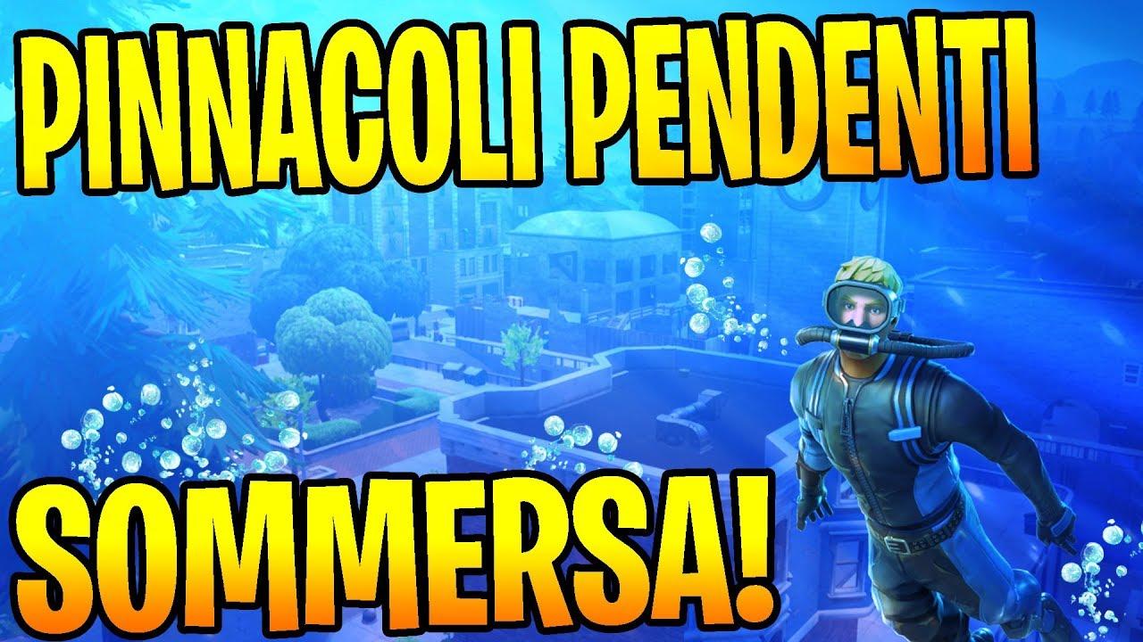 Pinnacoli Pendenti Verra Sommersa Season 8 Fortnite Ita Youtube