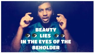 Beauty Lies in the Eye of the Beholder | YouthTalk 2K18 | Tamil Nadu Chapter