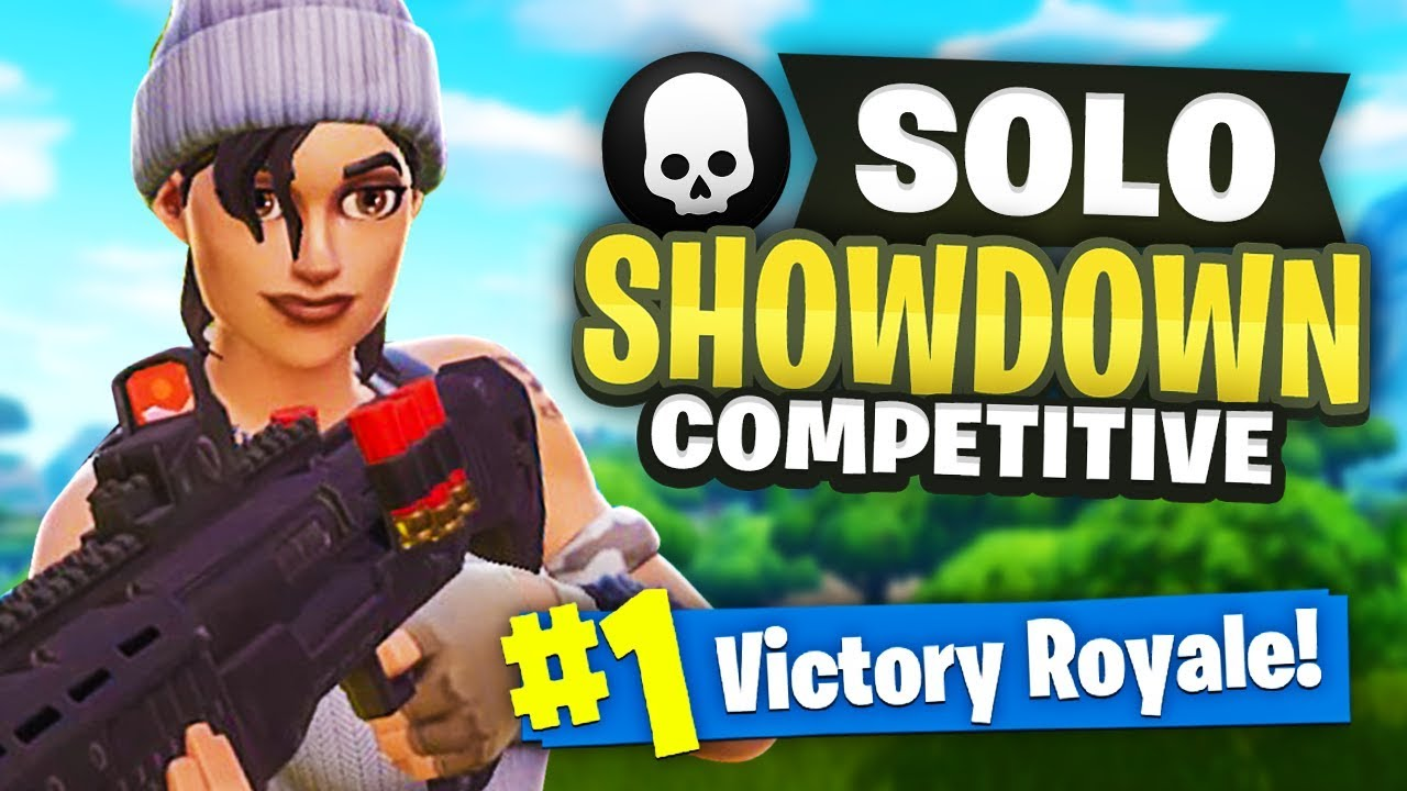 *NEW* SOLO SHOWDOWN - RANKED Fortnite Gameplay - YouTube