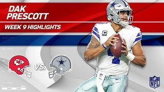 Dak Prescott's 3 TD Game vs. KC! | Chiefs vs. Cowboys | Wk 9 Player Highlights