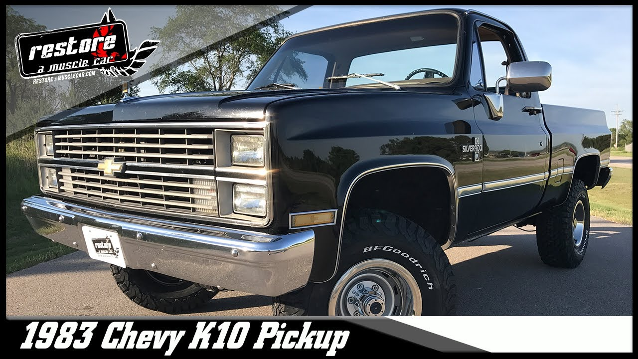 1983 chevy k10 shortbox 4x4 for sale youtube 1983 chevy k10 shortbox 4x4 for sale sciox Choice Image