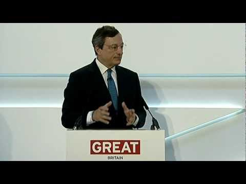 Global Investment Conference - Mario Draghi, President of th