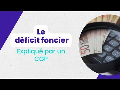 Le Déficit Foncier Expliqué Par CGP ONE