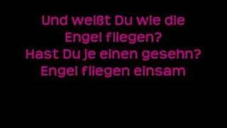 Christina Stürmer-Engel fliegen einsam ( lyrics)
