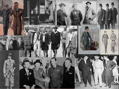 История моды XX века. 1920-е. Мужская мода.