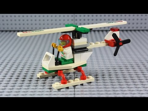 LEGO Set Review: Town Stunt Copter (6515) from 1994