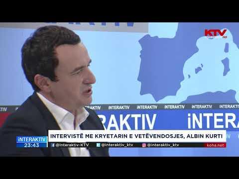 Interaktiv Biseda - Albin Kurti 24 09 2018