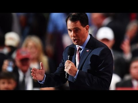 Does Scott Walker support a Labor Day deadline for Donald...