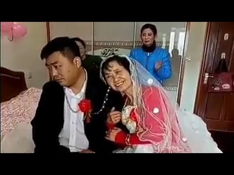 MAN GOLD DIGGER, Chinese man gets married to wealthy woman in exchange for big $$$