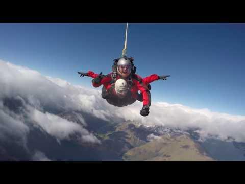 Trevor Young Sky Diving New Zealand Queenstown NZOne Skydive