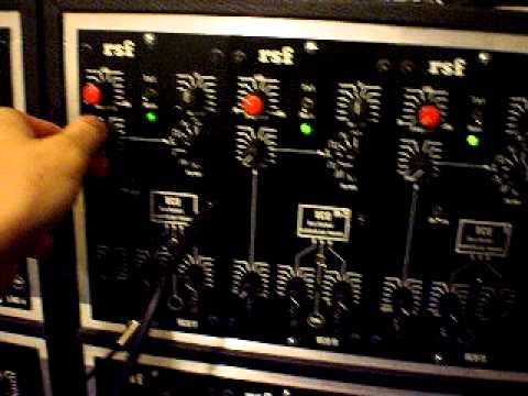 RSF Modular 11 with ARP Sequencer.