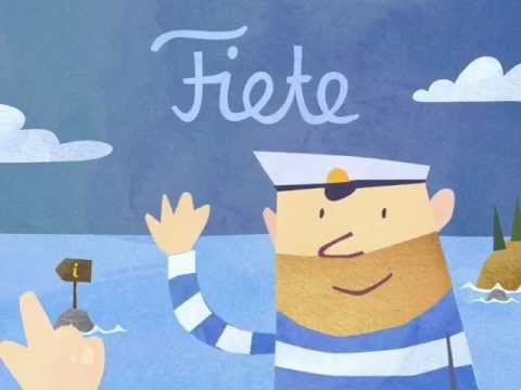 Fiete -- iPad app for little kids -- Gameplay