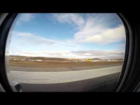 Arriving at Iqaluit Nunavut Airport