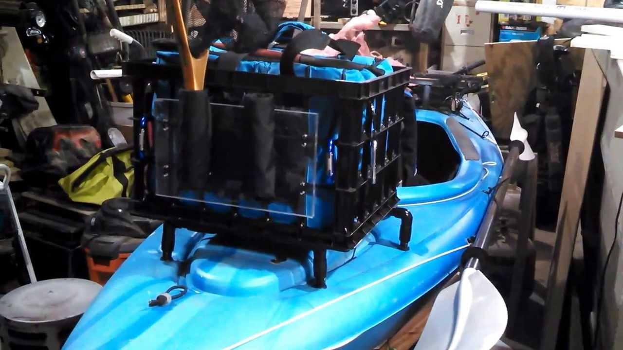 Fishing Kayak Diy Accessories Youtube