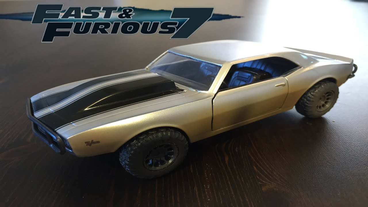Fast and Furious 7 Romans Camaro Twin Pack - YouTube