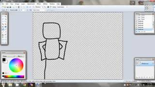 How to draw a robloxian speed art