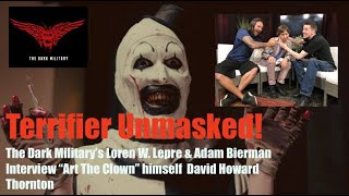 "TERRIFIER! Interview with ""Art The Clown"" LIVE! from Princeton Television"