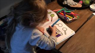 Art colouring for kids game drawing