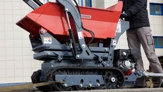 The best machine for landscape design. Mini loader ANT BY800