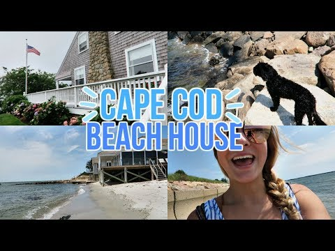 Cape Cod Beach House!! My Last Summer Vacation 2017